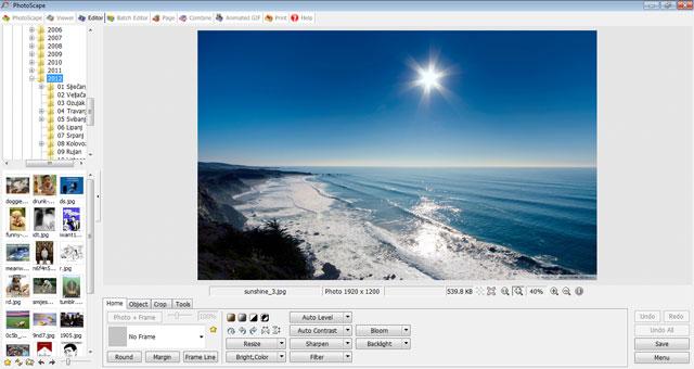 Uređivanje slika s Photoscape