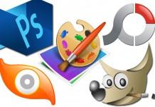 Ikone programa za uređivanje slika