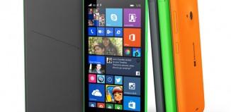 Lumia 535 - prednja i bočna strana