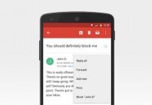 Gmail blokiranje pošiljatelja
