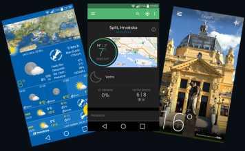 Aplikacije mobilne za prognozu vremena