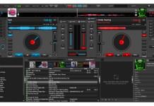 Virtual DJ 8 sučelje programa