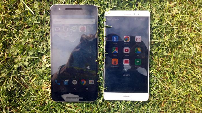 Huawei Mate S i Nexus 6P