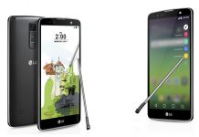 LG Stylus 2 Plus dizajn phableta