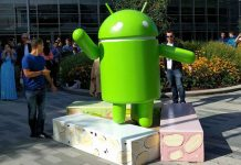 Android Nougat statua