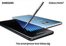 Galaxy Note7 crni i plavi