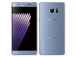Galaxy Note7 blue coral