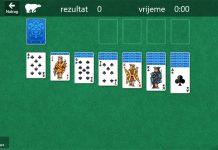 Microsoft solitaire klondike verzija