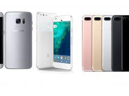 Najbolji pametni telefoni 2016 - Google Pixel, Galaxy S7, iPhone 7