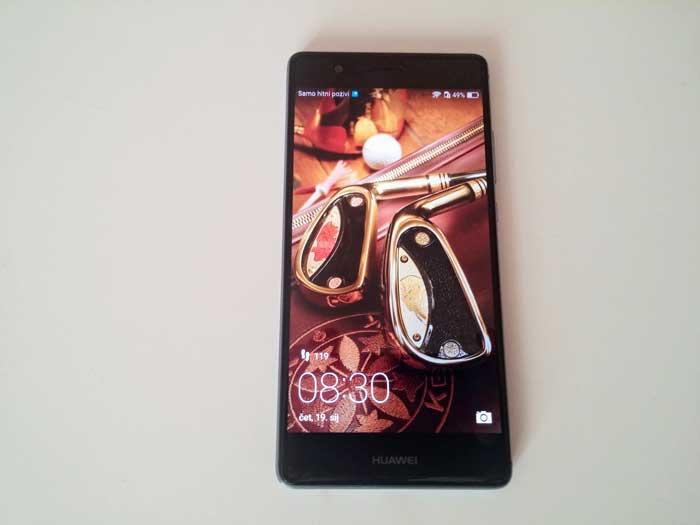 Huawei P9 zaslon