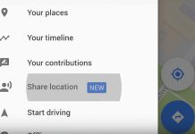 Google Karte dijeljenje lokacije