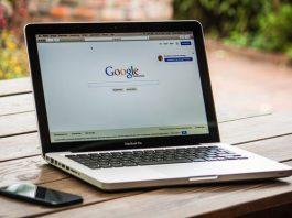 Google Chrome na laptopu