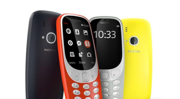 Nokia 3310 u raznim bojama
